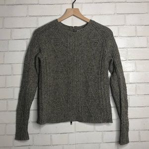 Madewell Sweaters - Madewell grey Merino wool sweater XS
